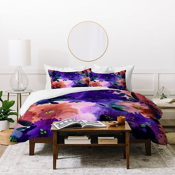 Joy Laforme Briar Bush 2 Duvet Cover