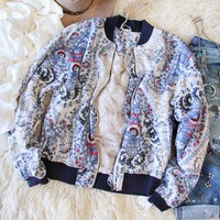 Free People Paisley Sky Jacket