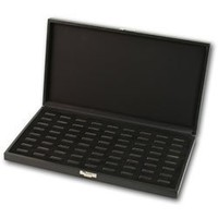 Wide Slot Ring Tray Case (72)