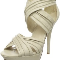 Miss Me Sonic-4 Open-Toe Platform Pump - designer shoes, handbags, jewelry, watches, and fashion accessories   endless.com