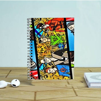 5Sos Superhero Photo Notebook Auroid