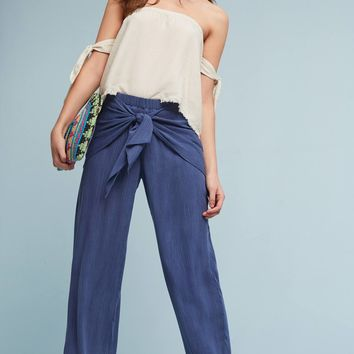 Frayed Off-The-Shoulder Top