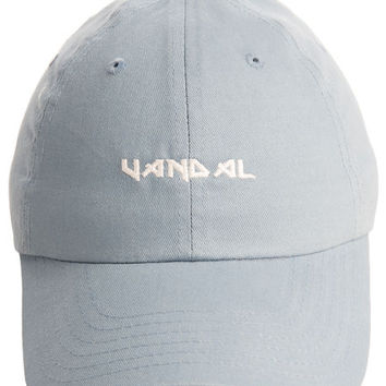 The Heavy Metal Dad Hat in Blue