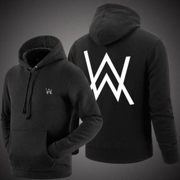 DCKL73 Alan Walker Faded Zippers Pullover Hoodies [11894168655]