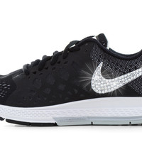 Nike Air Zoom Pegasus 31 - Crystallized Swarovski Swoosh - Black
