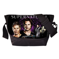 Tv Show Supernatural Young Men Women Messenger Bag Casual Travel Bag Boys Shoulder Sport Bags Girls School Bags For Teenagers
