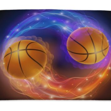 Bath Mat, Basketball Comet