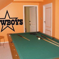 Dallas Cowboys 002 Wall art Sticker Decal