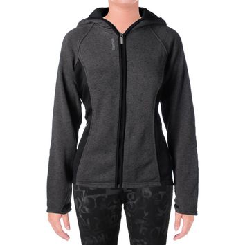 Reebok Womens Trailblazer Hooded Slim Athletic Jacket