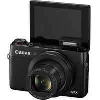 Canon PowerShot G7 X Digital Camera + 32GB Pixi-Basic Accessory Bundle