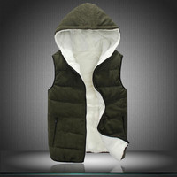Free shipping-2014 fall and winter clothes men's jackets cotton vest fashion lovers influx of Korean men vest waistcoat vest