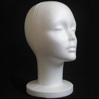 Short Neck Wig Stand