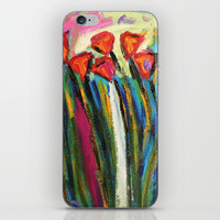 Tulips iPhone & iPod Skin by Express Yourself Studios, LLC