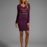 Catherine Malandrino BLACK LABEL Alara Dress in Purple