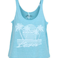 Becker Sunset Strip Tank - Electric Turqoise - J483VBSU