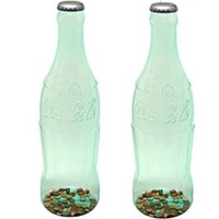 Coca-Cola Bottle Coin Bank - 2 Pack
