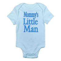 Mommy's Little Man Infant Bodysuit on CafePress.com