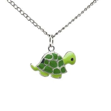 Stainless Steel Turtle Necklace