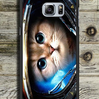 Space Cat Samsung Galaxy S6 Edge Plus Case