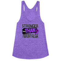 Stronger Than Fibromyalgia Tank Top