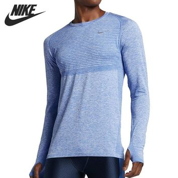 Original   NIKE  Men's  T-shirts  Long sleeve Sportswear