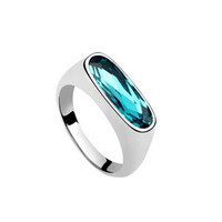 Gift New Arrival Stylish Shiny Crystal Jewelry Accessory Ring [4989613828]