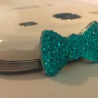 USA PICK COLOR 3.5mm Bow Bling Dust Cap Plug for Apple iPhone 4 / 4S 5 Galaxy S3 S2 Diamond glimmer