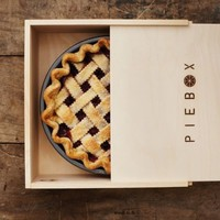 Piebox Designs: Decorative Pie Carry Box in Raw Pine