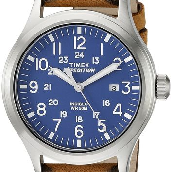 Timex Men's TW4B018009J Expedition Field Stainless Steel Watch