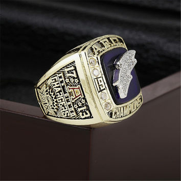 San Diego Chargers Championship Ring 1994 Replica AFC American Football Rings Antique Jewelry M
