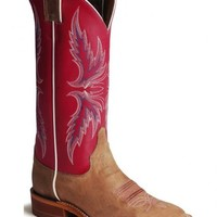 Justin Bent Rail Hot Pink Cowgirl Boots - Square Toe - Sheplers
