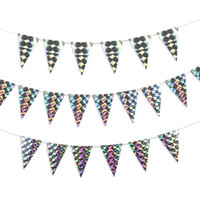 Party Flags | Holographic Wall Decorations