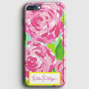 Lilly Pulitzer First Impression Rose Inspired iPhone 8 Plus Case | casescraft