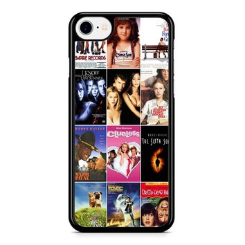 90S Movies 1 iPhone 8 Case