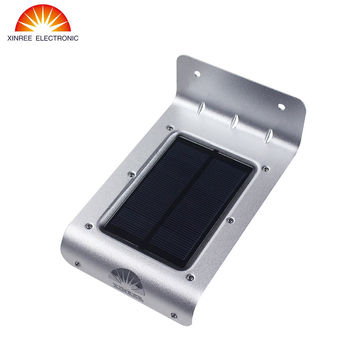Promotion XINREE Outdoor Waterproof Bright Solar Light 16LED Wireless PIR Motion Sensor Wall solar light 16LED