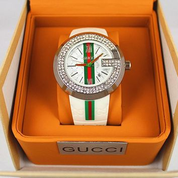 GUCCI Ladies Fashion Diamonds Watch Business Watches Wrist Watch
