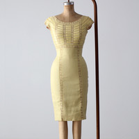 vintage 60s Pat Sandler wiggle dress