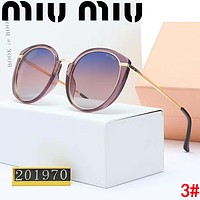 MIU MIU Stylish Woman Chic Casual Summer Sun Shades Eyeglasses Glasses Sunglasses 3#