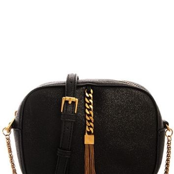 Small Tassel Detail Handbag