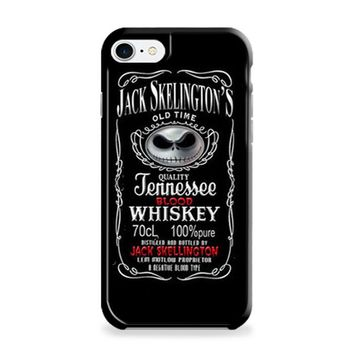 Jack Skellington Whiskey Daniels iPhone 6 | iPhone 6S Case