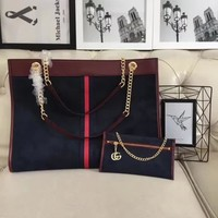GUCCI Vintage Hard Shopping bag