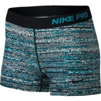 Nike Women's 3'' Pro Static Printed Shorts | DICK'S Sporting Goods