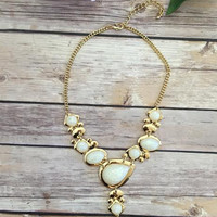Devine Being Necklace-Gold