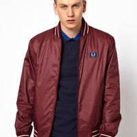 Fred Perry | Fred Perry Tipped Bomber at ASOS