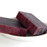 Sale- CABERNET WINE Soap - Made with Real Cabernet Sauvignon Wine - Wine Lovers Gift Soap - Handmade Red Wine Soap - Dark Purple Soap