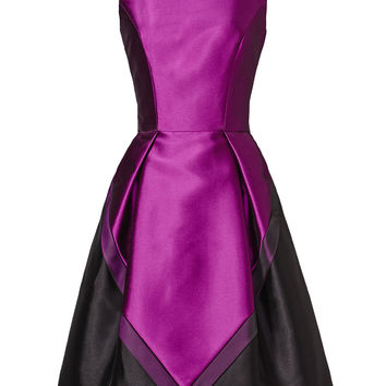 Theia Violet Femme Dress