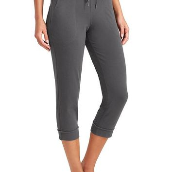Athleta Womens Organic Cotton Exhale Capri