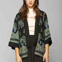 Staring At Stars Elephant Jacket - Urban Outfitters