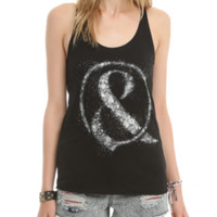 Of Mice & Men Shattered Ampersand Girls Tank Top