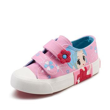 Little Girl Sneakers Cute Shoes For Girls White Tennis Little Girl Cool Sneaker Pink Sneakers For Kids Girl Size 10,12,13,15